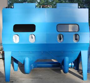 Pressure Blast Cabinet Bead Blast Machine